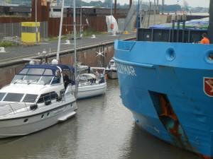 Aura bag motorbåden