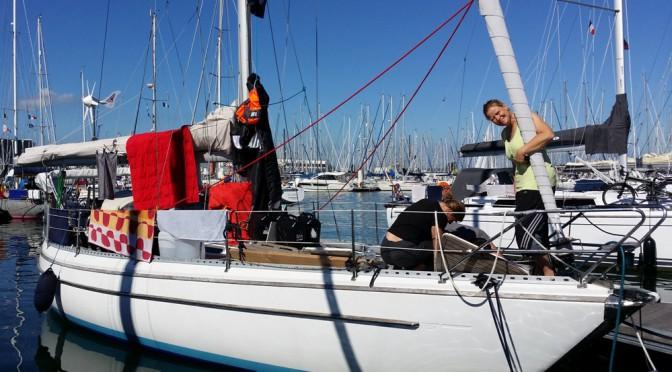 Cherbourg - i havn I