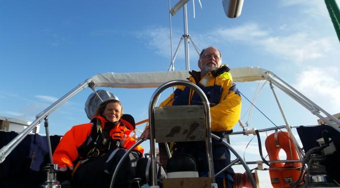 Aura crew fortæller om livet ombord