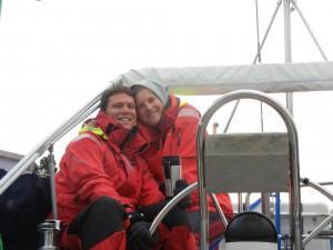 Skipperpar på Nordsøen