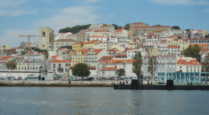 Langs Portugals kyst: Bayona - Lissabon
