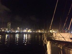 Udsigt udover Las Palmas marina