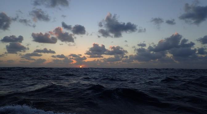 Turen går til Cap Verde - sejl sydpå til smørret smelter