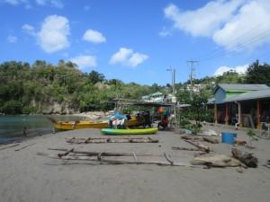 Strand i Anse La Raye