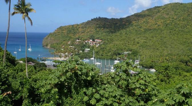 St. Lucia – uimodståelig natur, et brag af et nytår og farvel til gasterne