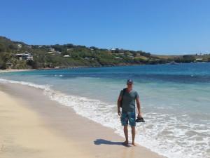 Martin ved Friendship Bay