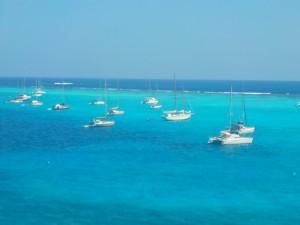 Tobago Cays foran revet