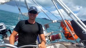 Martin er glad - vi sejler kapsejlads (med os selv)