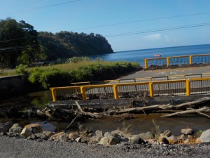 Ødelagt bro