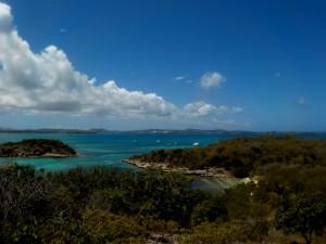 Udsigten fra Great Bird Island