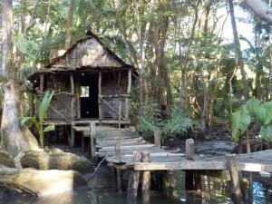 """Det berømte hus fra """"Pirates of The Caribbean"""" på Indian River"""