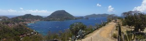 Panorama udover Les Saintes