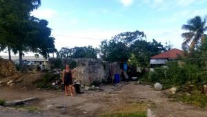 Terese i Parham - nedfaldne bygninger