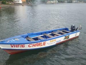 En af P.A.Y.S.-bådene