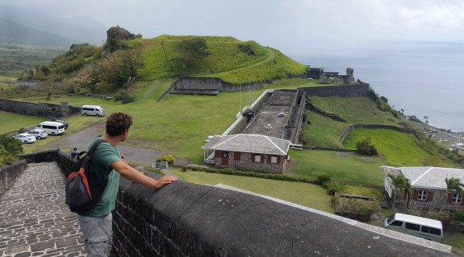 15 ulidelige timer på Montserrat og så til St. Nevis og Kitts!
