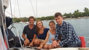 Aura crew klar til Atlanten