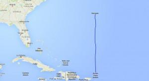 Fra De Britiske Jomfruøer til Bermuda - 850 sømil