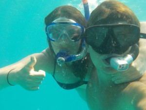 mar+kris under vand - Kopi