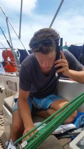 Martin ringer over satelittelefonen