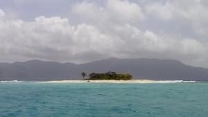 Sandy Spit - en lotto-ø lige til reklamen
