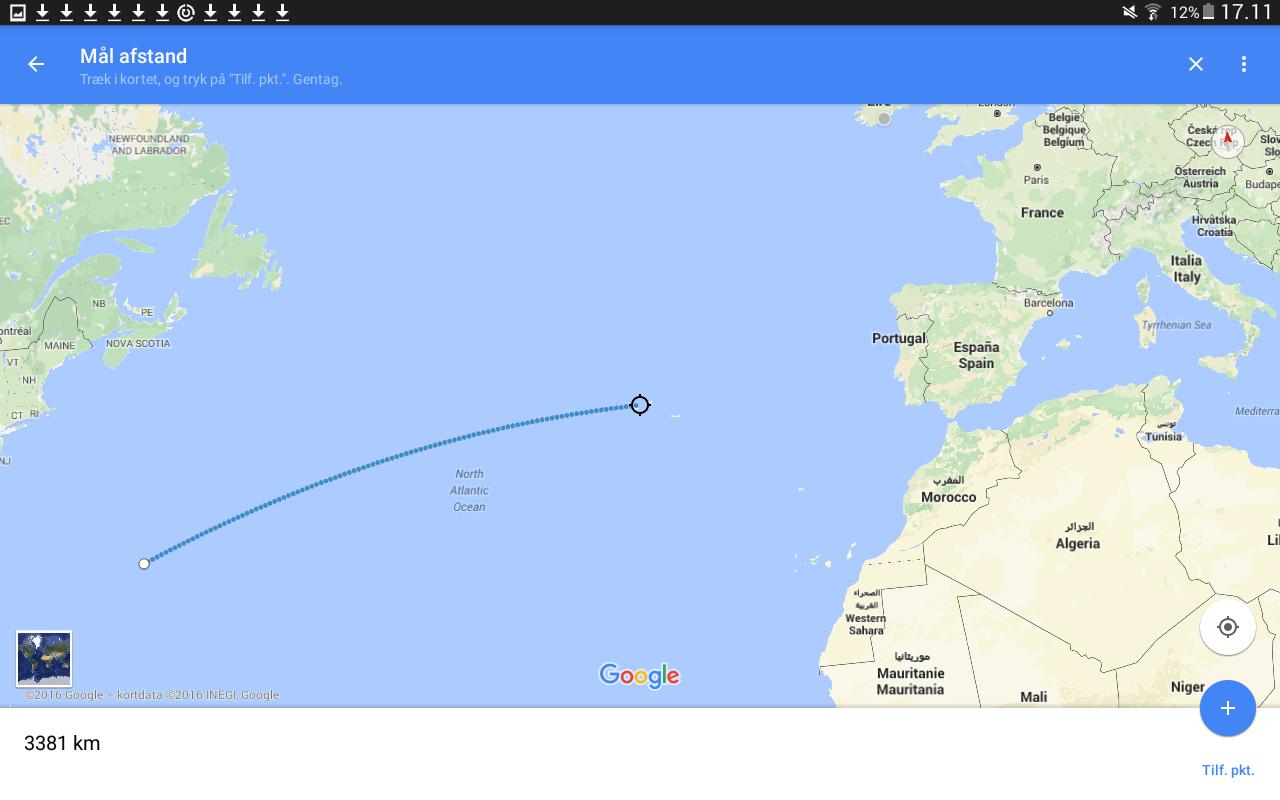 Turen fra Bermuda til Azorerne