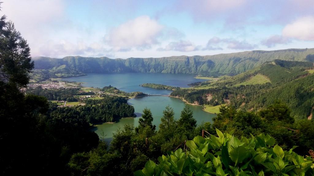 Den blå og den grønne sø