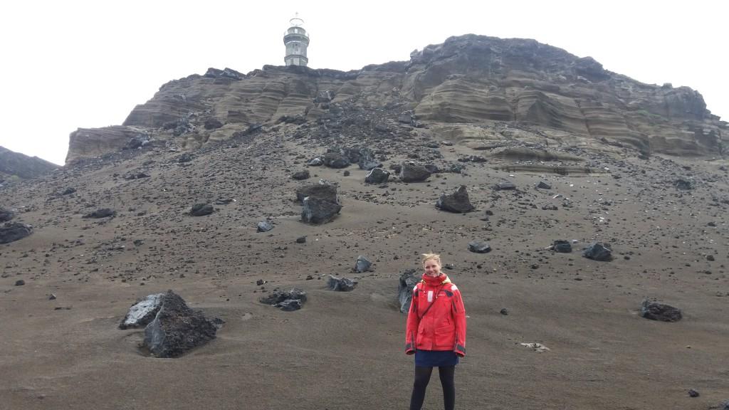 På vulkanen - omringet af lavasten