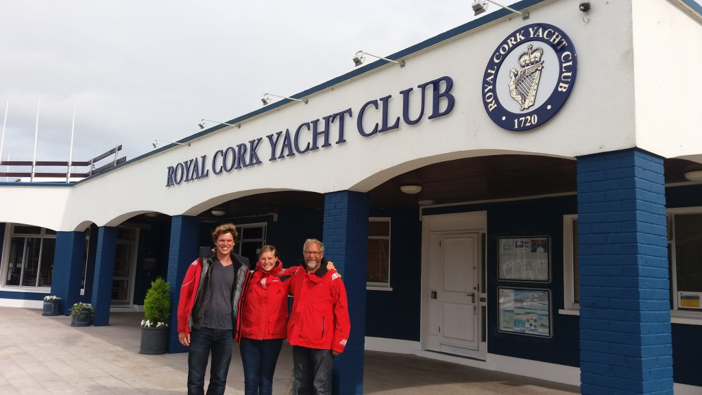 De tre sømænd i havn