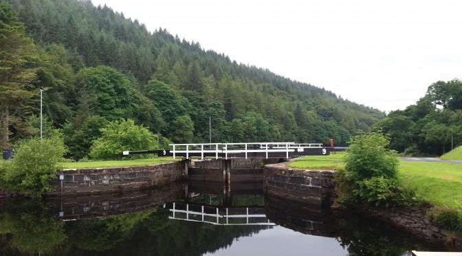 Grønne Irland og 65 skotske sluser