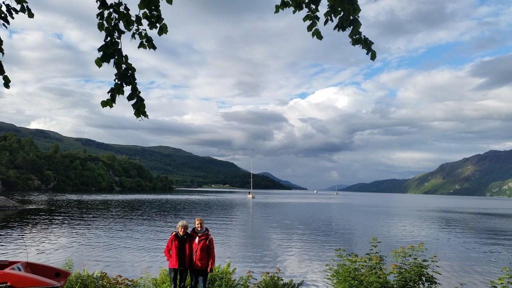 Foran Loch Ness (set fra Fort Augustus)