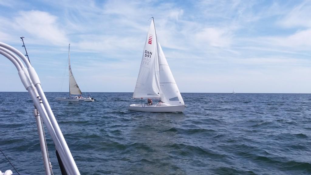 Iris i Zoom8-båd