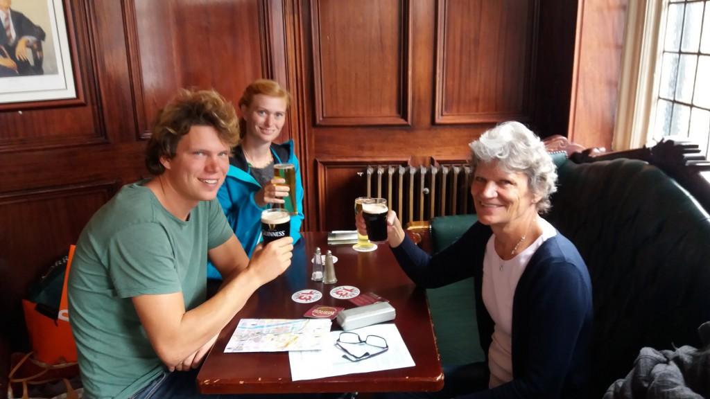 På en rigtig god irsk pub