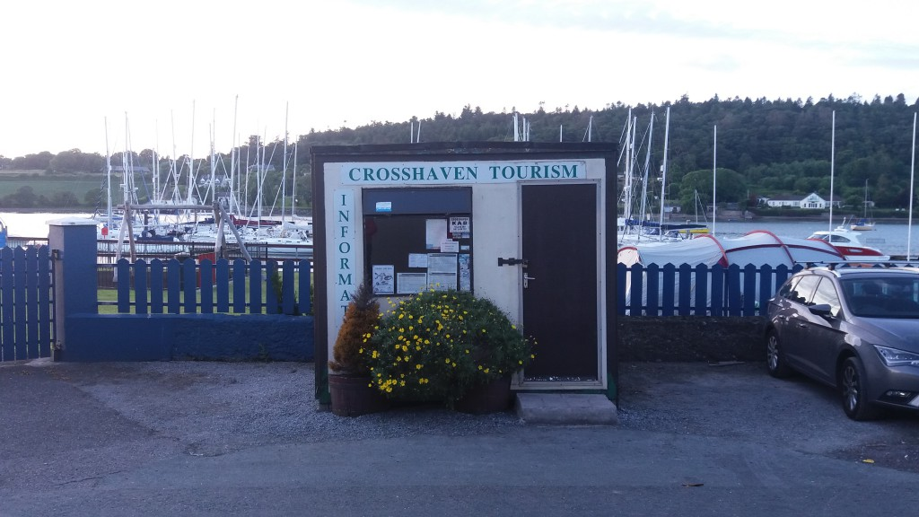 Turistkontoret i Crosshaven :)