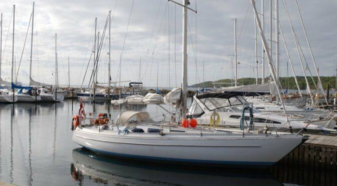 Vores sejlbåd Aura er til salg